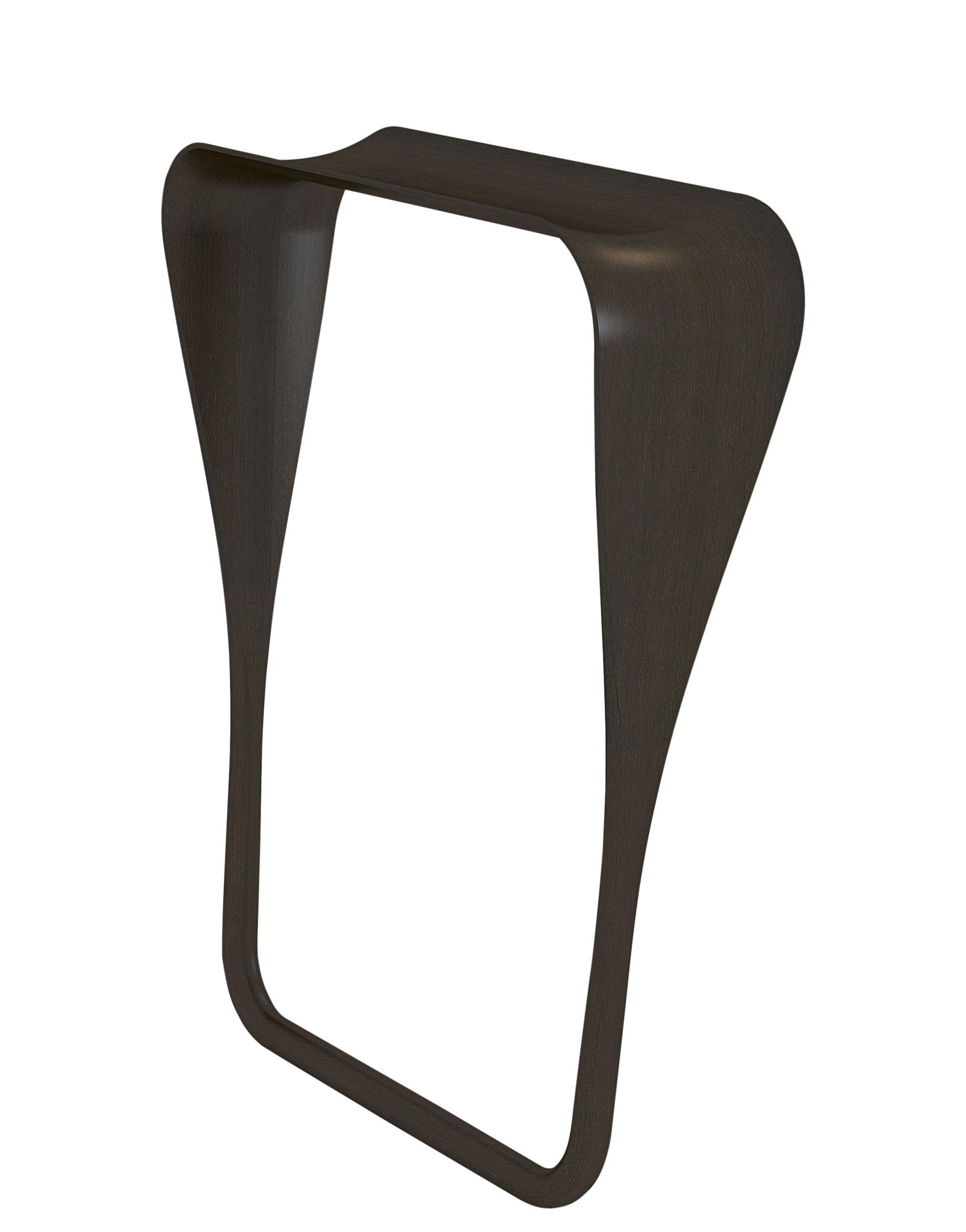 Möbel - Konsole - Tadaima Konsole / L 73 cm x H 88 cm - ClassiCon - Braun - getönte Eiche