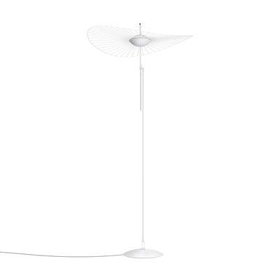 Lampadaire Vertigo Nova LED / Ø 110 cm - H 165 ou 200 cm - Petite Friture blanc en matière plastique