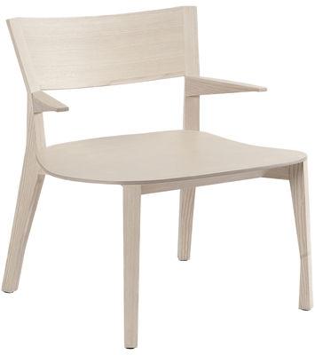 Gavotte Lounge Sessel - Moustache - Holz natur