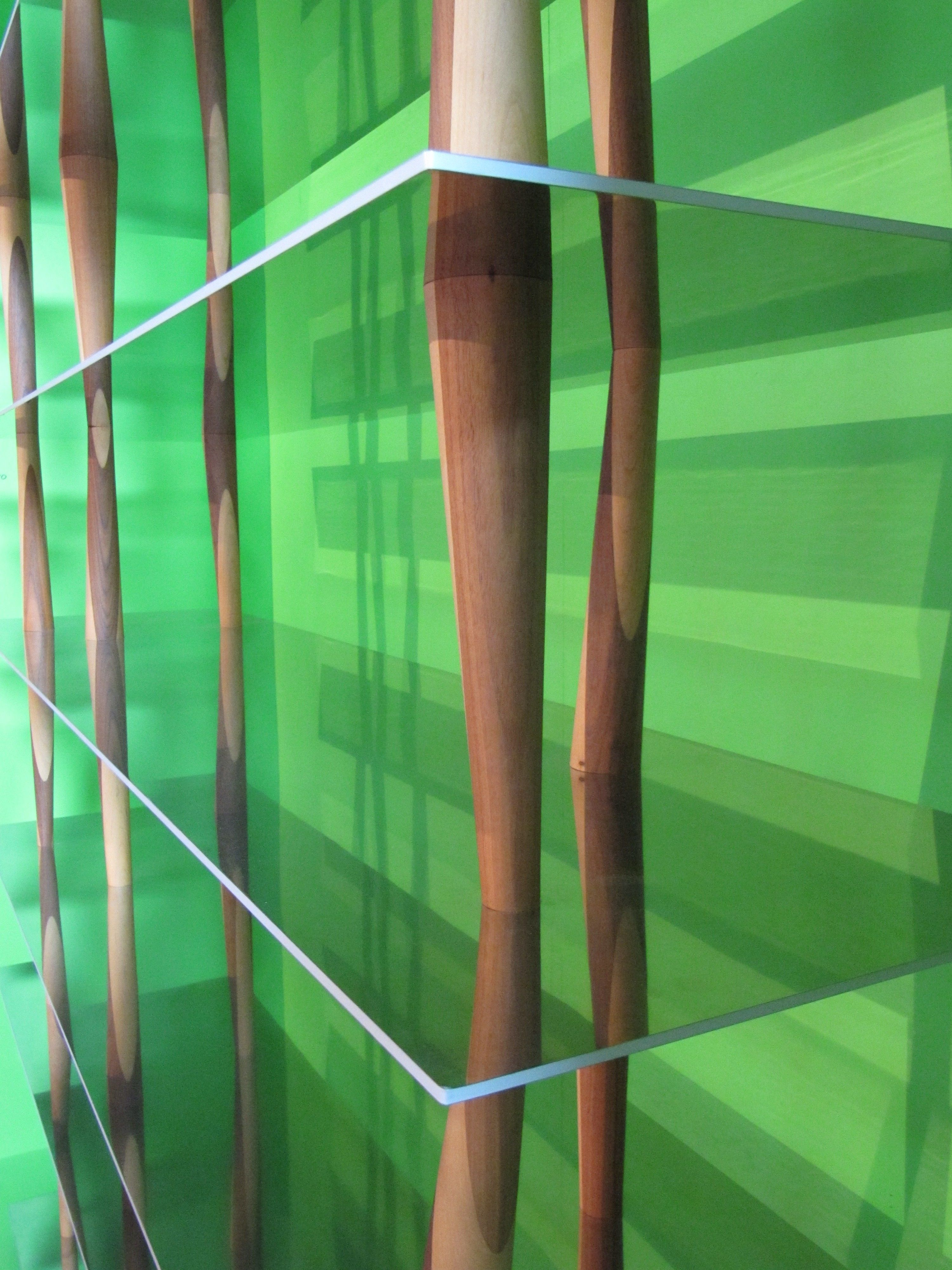 Shelf Sendai By Horm Natural Wood Metal Made In Design Uk