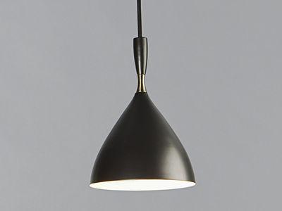 Illuminazione - Lampadari - Sospensione Dokka - riedizione del 1954 di Northern  - Nero - Acciaio