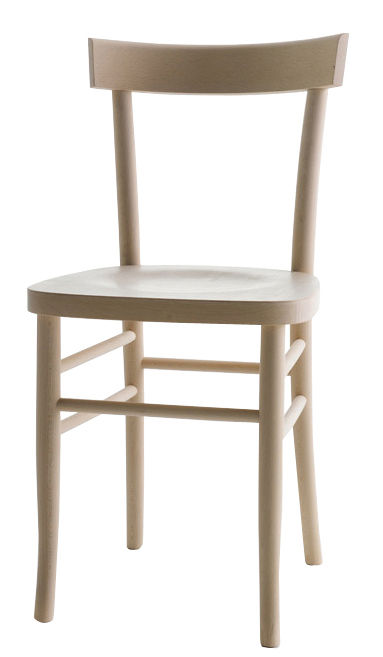 Möbel - Stühle  - Cherish Stuhl / Buche - Horm - Buche natur - Buchenfurnier, massive Buche