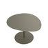 Table basse Galet n°3 / OUTDOOR - 57 x 64 cm - H 37,5 cm - Matière Grise