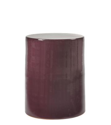 Mobilier - Tables basses - Table d'appoint Pawn / Tabouret - Ø 37 x H 46 cm - Céramique - Serax - Violet - Terre cuite émaillée