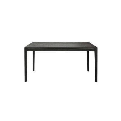 Table rectangulaire Bok / Chêne massif - 160 x 80 cm / 6 personnes - Ethnicraft noir en bois