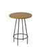 Tavolino d'appoggio Ula - / Legno & metallo - Ø 30 cm x H 40,5 cm di Serax