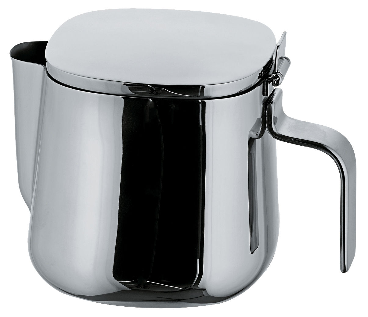 Tableware - Tea & Coffee Accessories - 401 Teapot by A di Alessi - 2 cups - Stainless steel