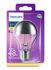 Ampoule LED E27 Sphérique filament Modern Standard / Calotte argentée - 5,5W (48W) - Philips