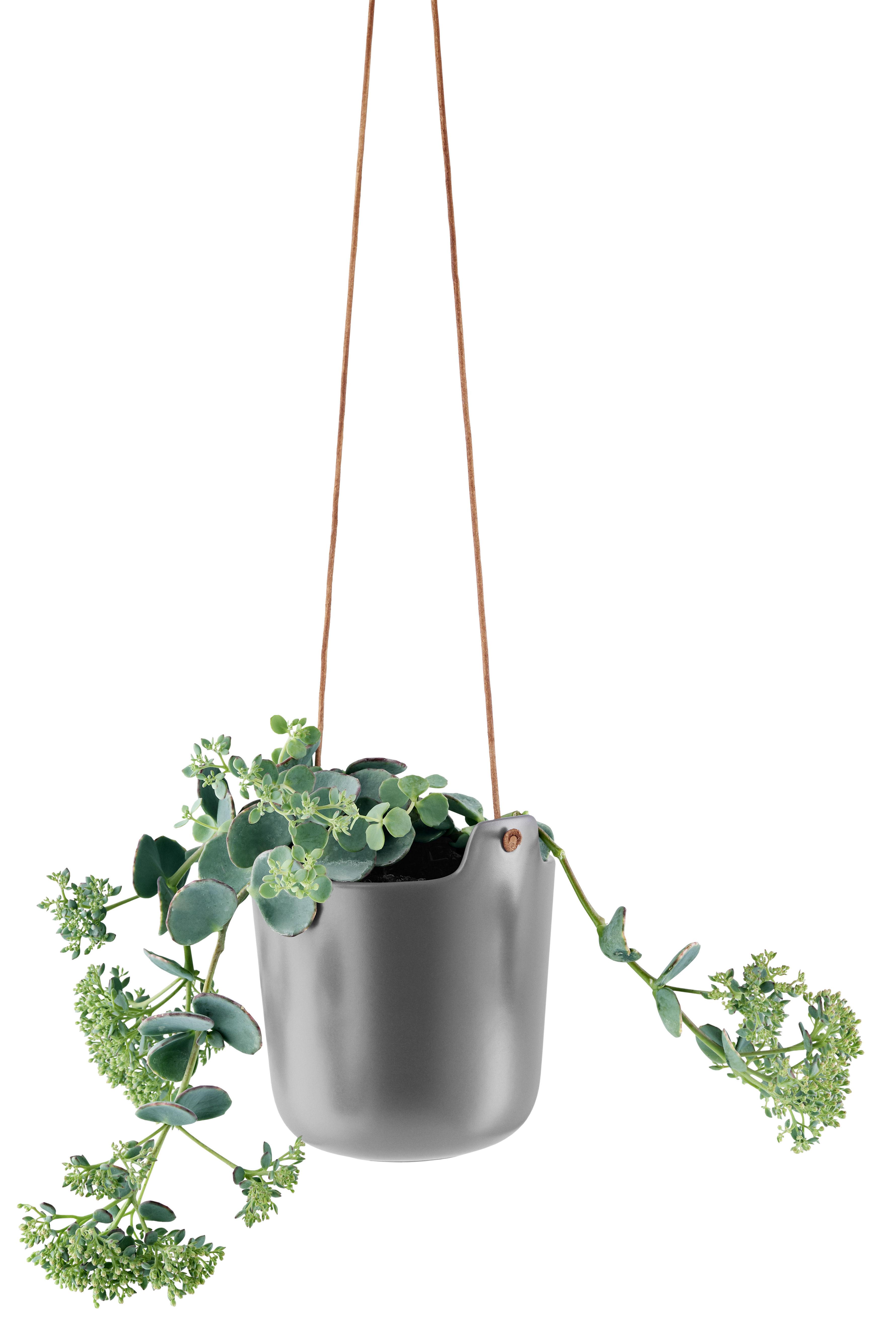 blumentopf zum aufh ngen von eva solo grau made in design. Black Bedroom Furniture Sets. Home Design Ideas