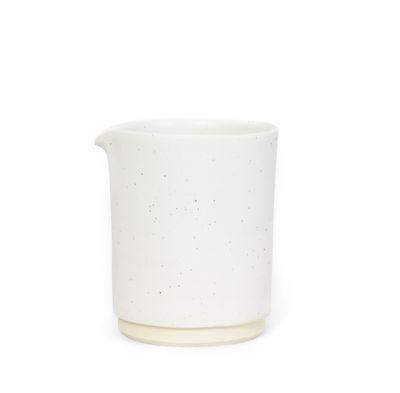 Image of Bricco per latte Otto Medium - / Ø 9,5 x H 11,5 cm di Frama - Bianco - Ceramica