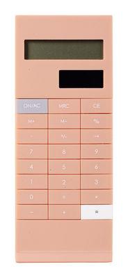 Déco - Accessoires bureau - Calculatrice Graphia solaire avec clip intégré - Mark's - Rose pâle - ABS
