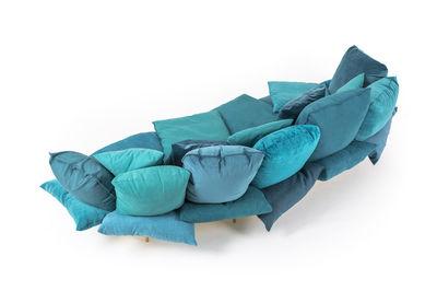 Mobilier   Canapés   Canapé Droit Comfy / L 300 Cm   Seletti   Bleu  Turquoise