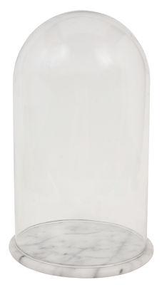 Déco - Objets déco et cadres-photos - Cloche en verre / Large - H 26 cm - & klevering - Cloche / Transparent - Verre