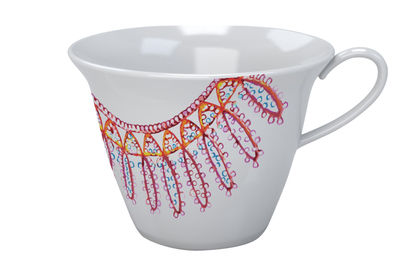 Tableware - Coffee Mugs & Tea Cups - The White Snow Luminarie Coffee cup by Driade - Red - China