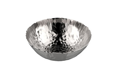 Arts de la table - Corbeilles, centres de table - Corbeille Joy N.1 / Ø 20,7 cm - Alessi - Acier - Acier inoxydable 18/10