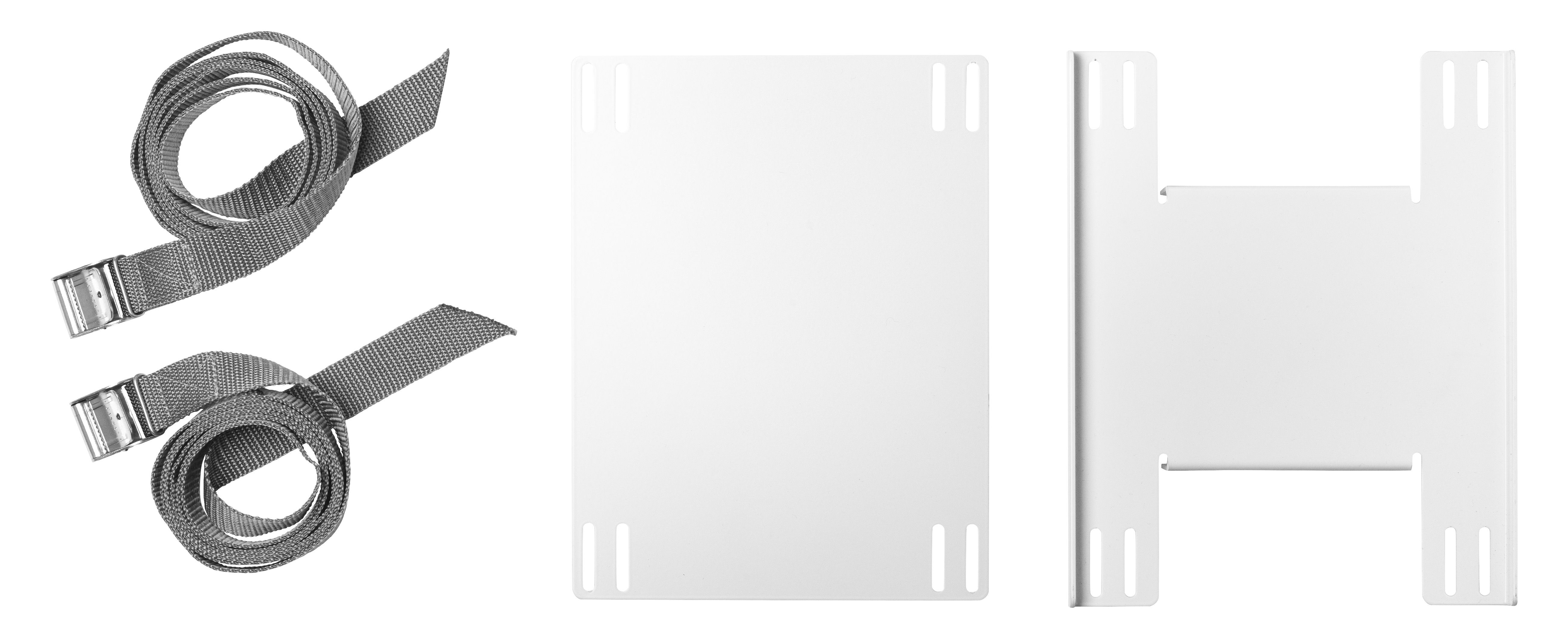 Möbel - Büromöbel - String Works Halter PC-Halterung - String Furniture - Weiß - lackierter Stahl