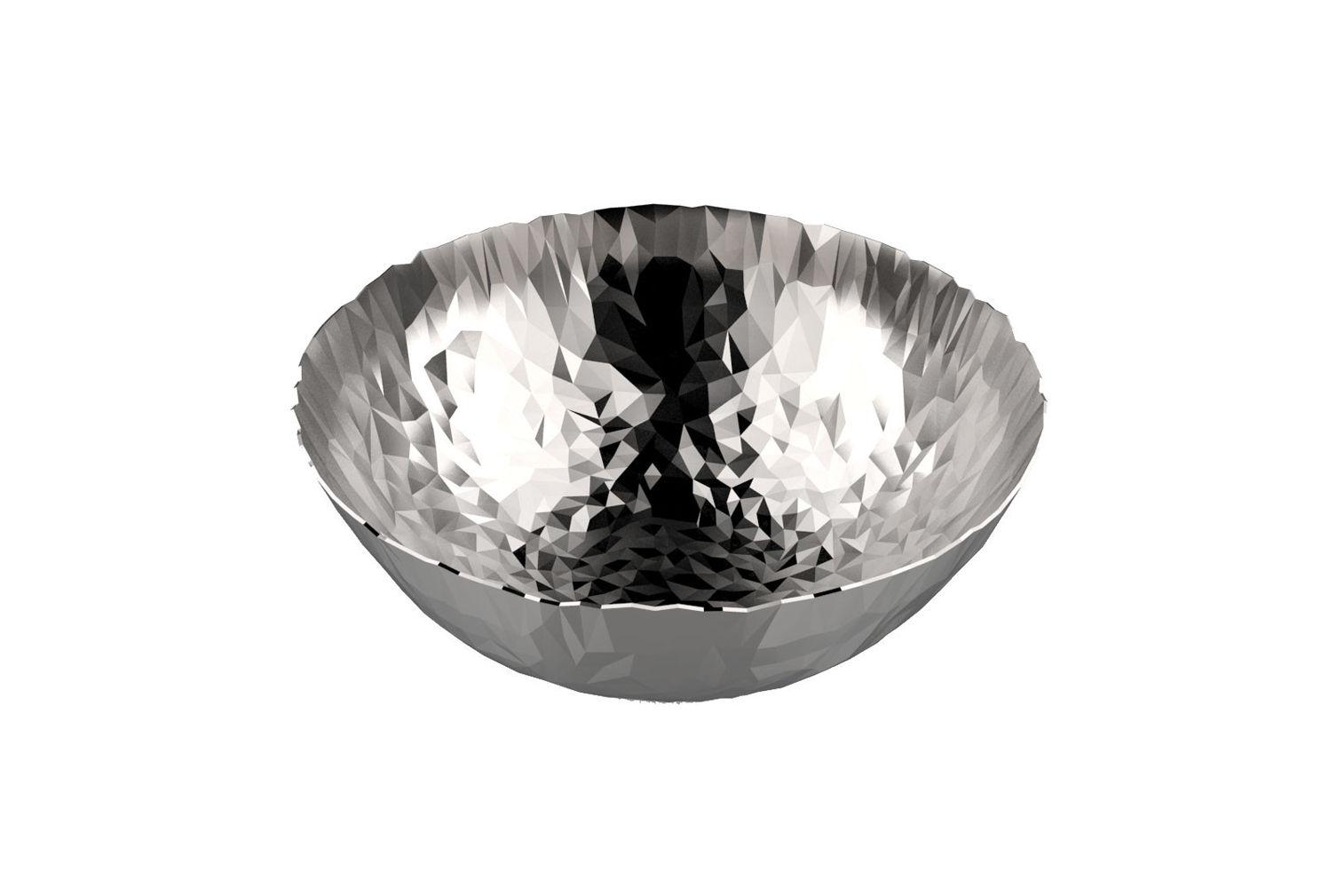 Tischkultur - Körbe, Fruchtkörbe und Tischgestecke - Joy N.1 Korb / Ø 20,7 cm - Alessi - Stahl - Acier inoxydable 18/10