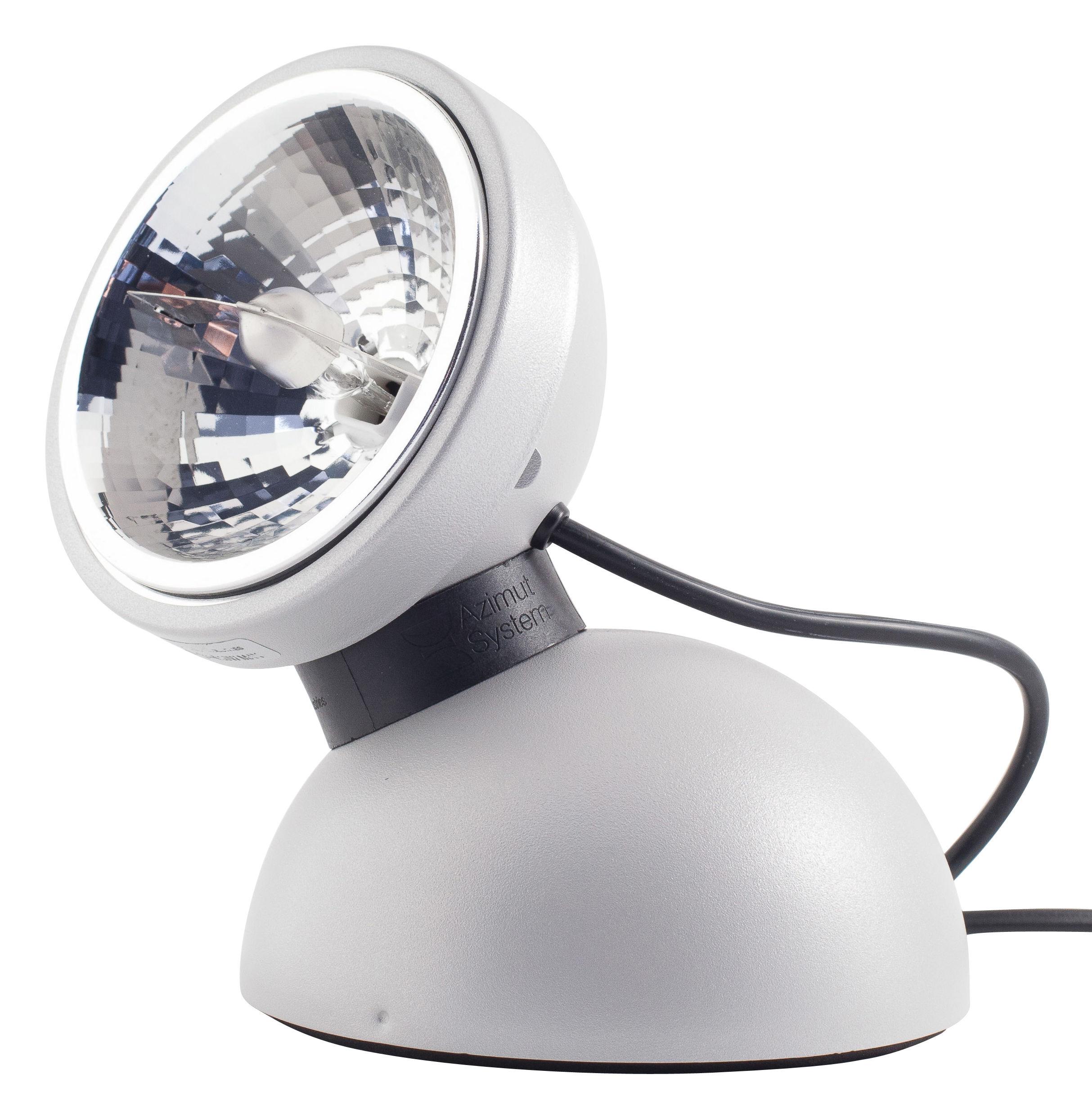 Illuminazione - Lampade da tavolo - Lampada da tavolo Touch 360° - Comando tattile di Azimut Industries - Grigio - metallo laccato