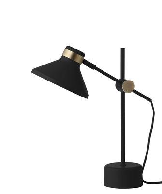 Luminaire - Lampes de table - Lampe de table Mr / Métal - H 44 cm - Frandsen - Noir mat - Métal peint