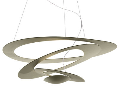 Pirce Pendelleuchte LED / Ø 97 cm - Artemide - Gold