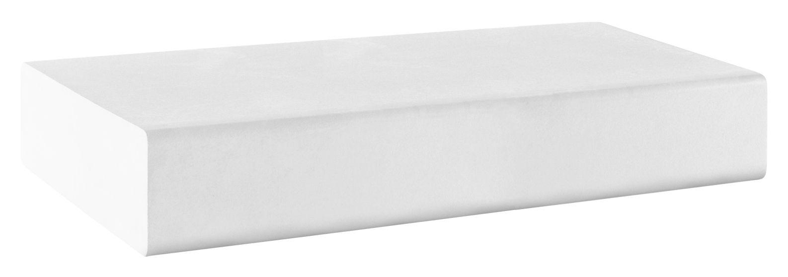 Mobilier - Mobilier Ados - Pouf Matrass Mat 150 - Quinze & Milan - Blanc - Mousse de polyuréthane