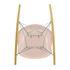 RAR - Eames Plastic Armchair Rocking chair - / (1950) - Chromed legs & light wood by Vitra