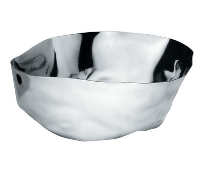 Tableware - Bowls - Enriqueta Salad bowl - Salad bowl by Alessi - Mirror polished steel - Steel