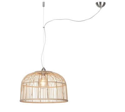 Luminaire - Suspensions - Suspension Borneo Small / Bambou - Ø 42 cm - GOOD&MOJO - Ø 42 cm / Bambou - Bambou