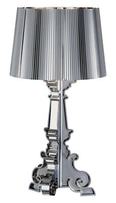 Lighting - Table Lamps - Bourgie Chrome Table lamp by Kartell - Chromed - Chromed ABS