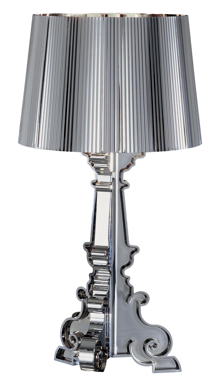 Lighting - Table Lamps - Bourgie Chrome Table lamp by Kartell - Chromed - Chromed ABS