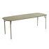 Table rectangulaire Week-End / 220 x 85 cm - Aluminium - Petite Friture