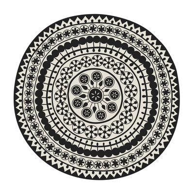 Tapis sand storm p devache beige noir 145 made - Made in design tapis ...