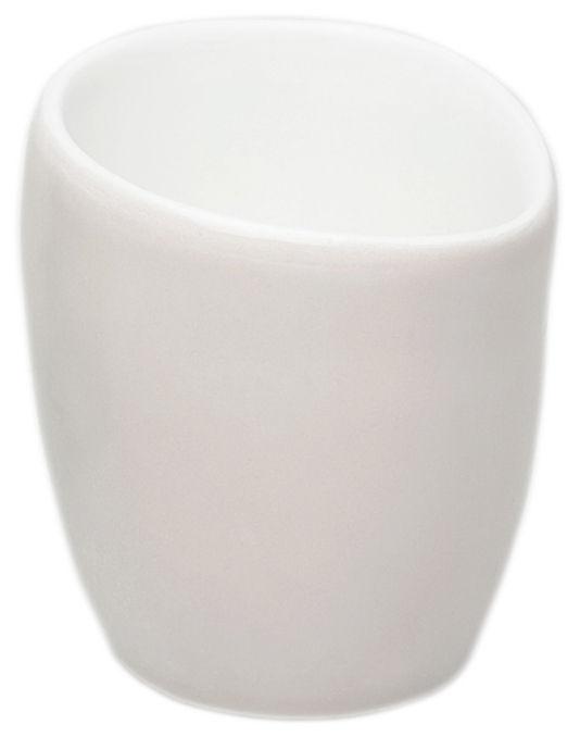 Arts de la table - Tasses et mugs - Tasse à café Bazelaire / Fait main - Sentou Edition - Blanc cassé - Faïence émaillée