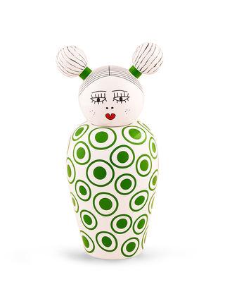 Déco - Vases - Vase avec couvercle Canopie Izumi / Avec couvercle - Seletti - Izumi / Vert - Porcelaine peinte