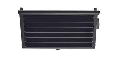 Applique Biny Box LED / Réédition 1957- L 17 cm - DCW éditions noir en métal