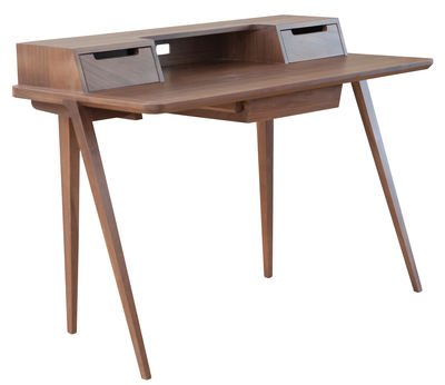 Furniture - Office Furniture - Treviso Desk by Ercol - Walnut - Solid walnut