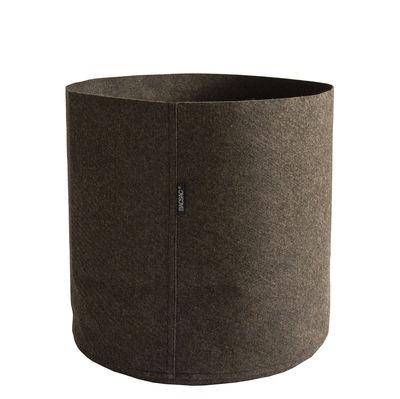 Outdoor - Pots & Plants - Humus Feutre Flowerpot - 50 L by Bacsac - 50 L / Brown - Geotextile felt