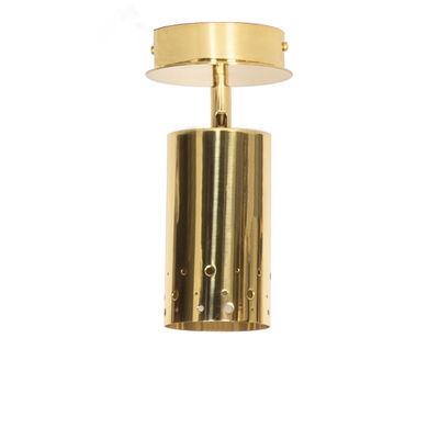 Luminaire - Plafonniers - Plafonnier Jean / Spot orientable - Maison Sarah Lavoine - Laiton - Laiton massif