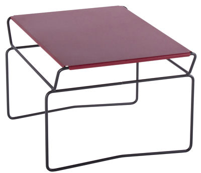 Table basse Fil Master / 65 x 53 cm - AA-New Design rouge en métal