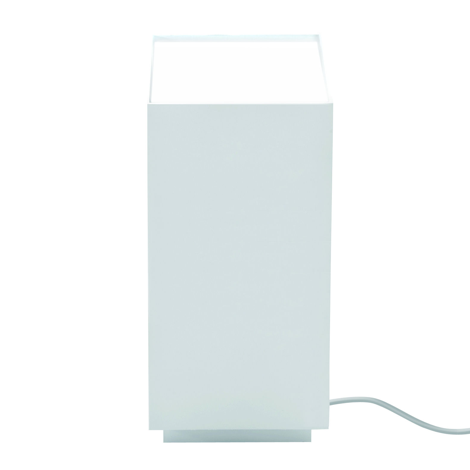 Lighting - Table Lamps - Prisma Table lamp - LED - H 26 cm by Nemo - White - Extruded aluminium, Polycarbonate