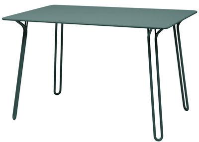 Table rectangulaire Surprising / 120 x 78 cm - Fermob cèdre en métal