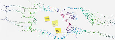 Dekoration - Stickers und Tapeten - Do not forget Tapete 1 Bahn - Domestic - Bunt - imprägniertes Papier