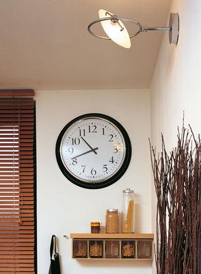 Lighting - Wall Lights - Nobi Wall light - Ø 23 by Fontana Arte - Wall lamp - Chromed - Chromed metal, Glass