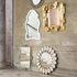 Petal Wall mirror - / Mother-of-pearl mosaic -  Ø 81 cm by Jonathan Adler