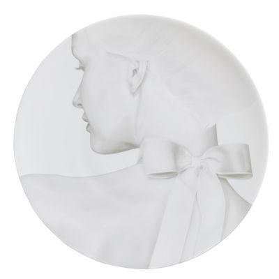 Assiette Collection Blanche / Silk - Ø 27 cm - Th Manufacture blanc en céramique