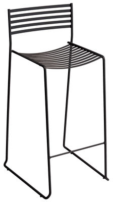 Furniture - Bar Stools - Aero Bar chair - H 64 cm - Metal by Emu - Antic iron - Lacquered steel