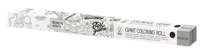 Decoration - Children's Home Accessories - XXL Brooklyn Colouring poster - 180 x 100 cm by OMY Design & Play - Brooklyn - Papier recyclé