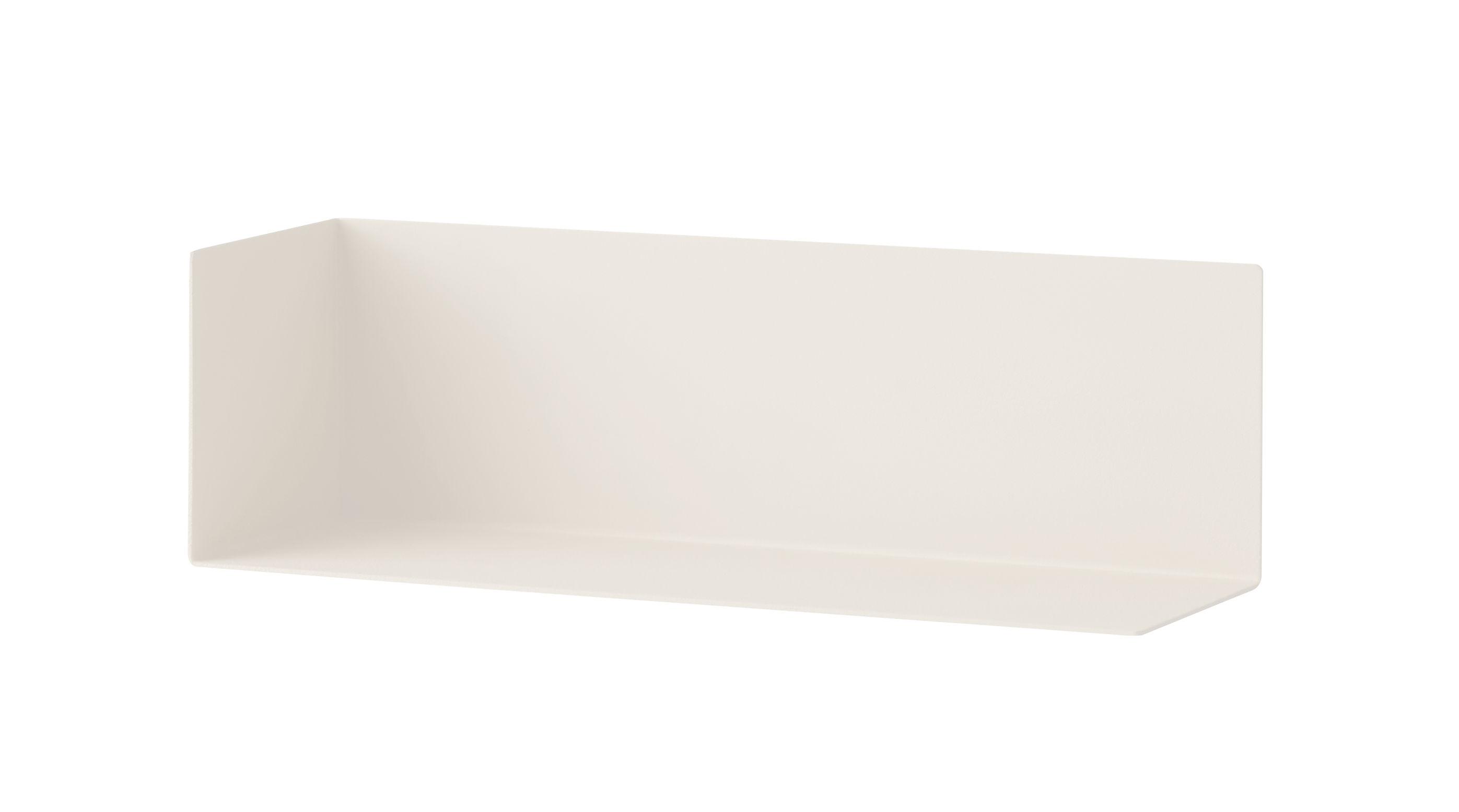 Mobilier - Etagères & bibliothèques - Etagère Corner Shelf Small / L 26 cm - Menu - Gris clair - Acier