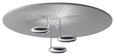 Luminaire - Plafonniers - Plafonnier Droplet / LED - Ø 100 cm - Artemide - Chromé - Aluminium chromé, Aluminium satiné