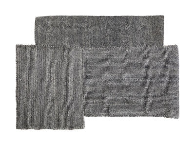 Decoration - Rugs - Cabuya Small Rug - / 160 x 224 cm by ames - Grey - Fique fibre